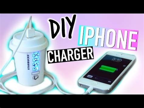 diy phone charger the d i y express