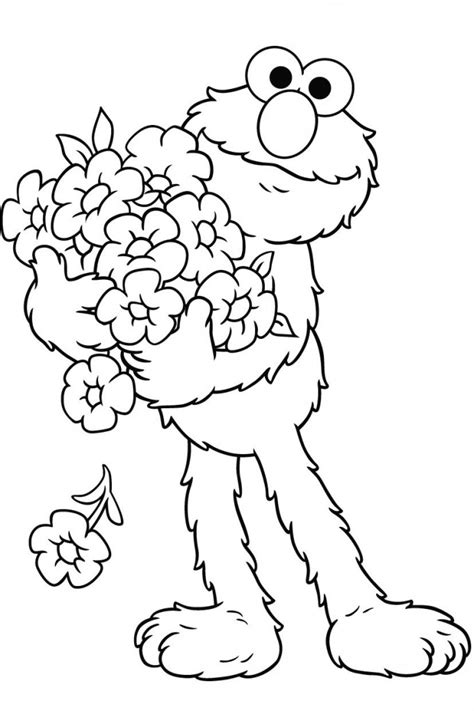 S Coloring Pages Print by Free Printable Elmo Coloring Pages For