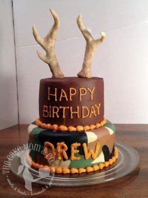 deer hunting birthday cake  drew les gateaux hunting birthday cakes birthday cake