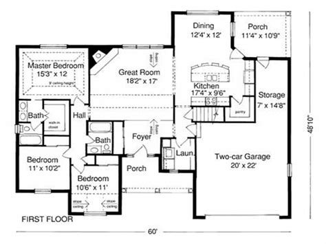 blueprint floor plan exle of house plan blueprint sle house plans