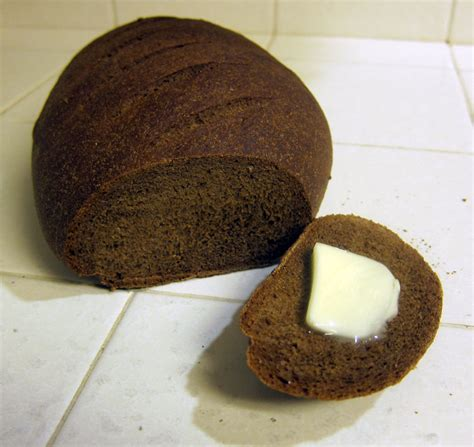 Thom's Pumpernickel Bread   Português