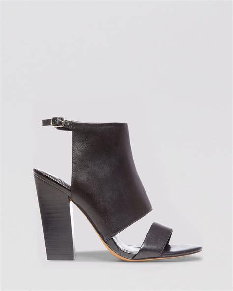 steve madden high heels black steven by steve madden open toe sandals citty block high