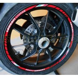 Ducati Corse Sticker Set by Ducati Diavel Adhesives Stickers Carbon4us