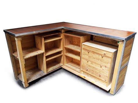 scaffali ad angolo bancone in legno ad angolo x negozi con ripiani