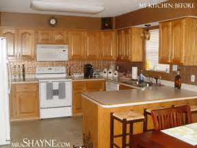 Kitchen Remodel Ideas With Oak Cabinets Oak Kitchen Cabinets Casual Cottage