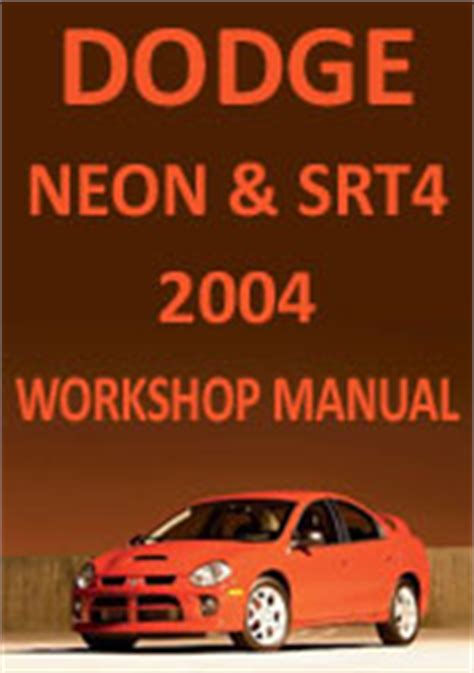 auto repair manual free download 1996 plymouth neon auto manual dodge neon srt4 2004 workshop repair manual
