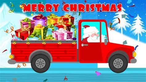 truck santa santa gift s truck santa s truck merry
