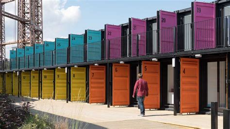 Affordable Home Construction building4change image of the week containerville london