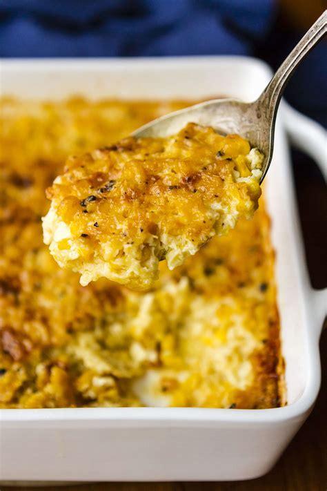 corn recipe s creamed corn casserole recipe unsophisticook