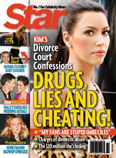 Pop Nosh Tabloids Not Fans by Daily Mayham And Kris Humphries Divorce