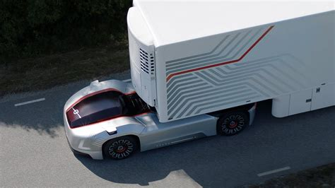 volvos vera   truck  autonomous  doesnt  room  humans