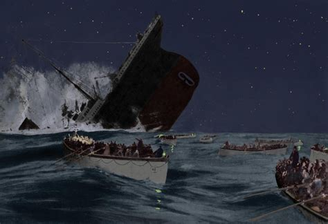 Of The Sinking by Backing Up And The Sinking Of The Titanic Onthecloud It