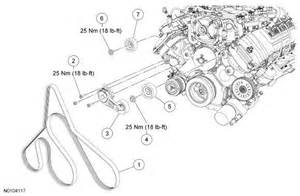 6 best images of 5 4 triton belt diagram 2007 ford f 150