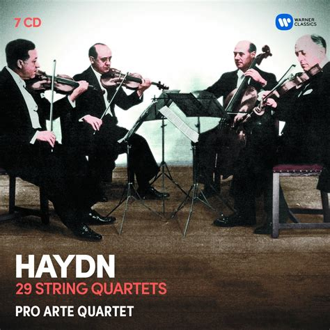 pro arte quartet haydn the string quartets cd opus3a