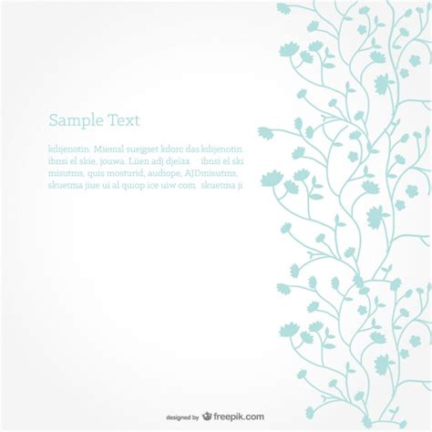 free download layout vector minimalist floral background vector free download