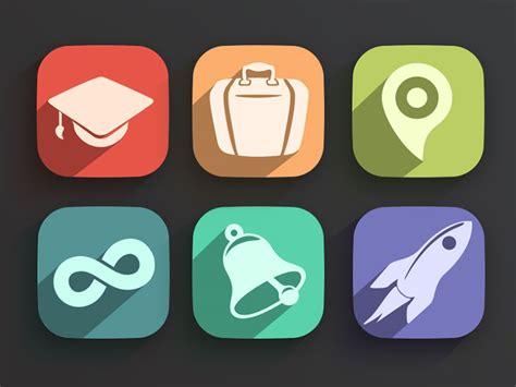 flat design icon video flat design casts a long shadow webdesigner depot
