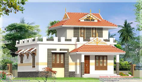 front elevation of single floor house kerala gallery with