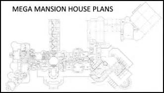 mega homes floor plans mega mansion house plans