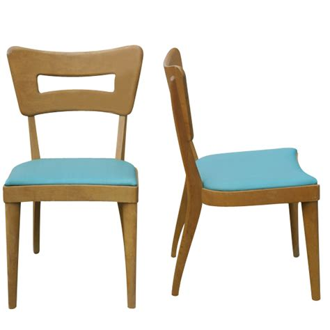 Heywood Wakefield Dining Chair 2 Heywood Wakefield Side Dogbone Dining Chairs M154a 20 Mr7238 Ebay