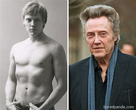 christopher walken picture before they were famous abc 10 celebrities who had surprising jobs before they got