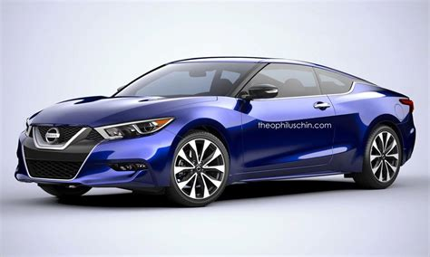 nissan coupe 2016 2016 nissan maxima rendered as coupe and wagon