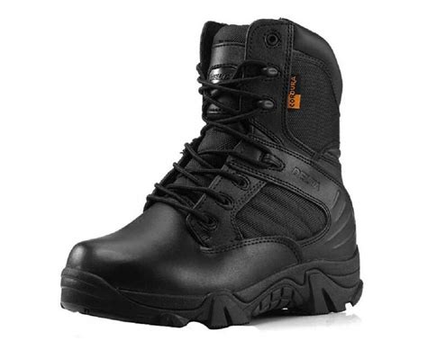 stylish mens combat boots trendy leather combat ankle boots mens army shoes