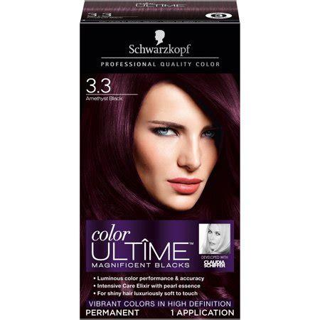 schwarzkopf color ultime hair color 3 3 amethyst