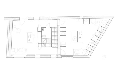 storage room floor plan showroom and storage room in an barn michael menuet archdaily