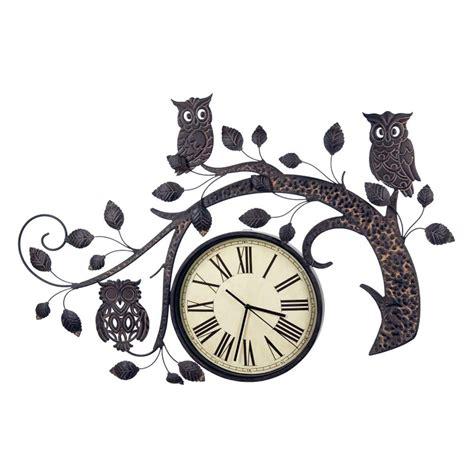 Unique Wall Clock Com 12 fun and amazing owl clocks for sale