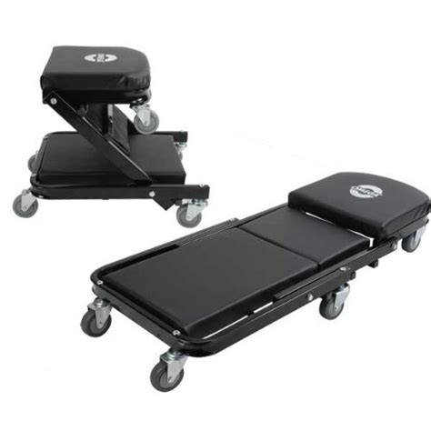 best mechanics creeper seat adjustable creeper seat mechanic stool convertible work