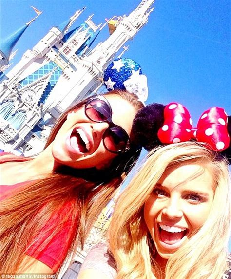tegan martin at disney world with fellow miss universe