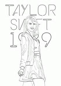 free taylor swift coloring pages printables coloring home