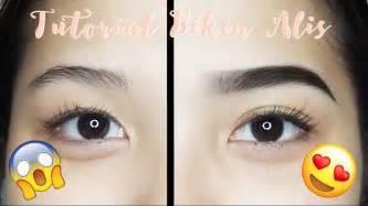 cara membuat alis menggunakan eyebrow eyebrow routine tutorial tutorial bikin alis mudah