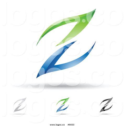 logo design letter z larger preview royalty free clip art vector logos of