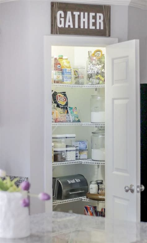awesome tips and tricks for small pantry organization how to organize a small pantry polished habitat