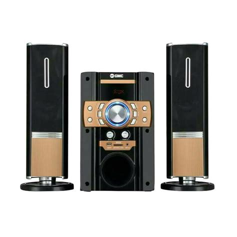 Speaker Aktif Bluetooth Lg jual gmc 885s bluetooth speaker aktif gold