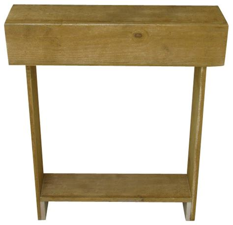 wall accent tables iver skinny wall table natural rustic side tables and end tables by doug and cristy designs
