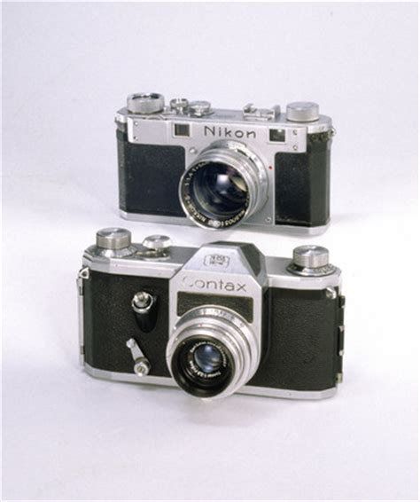 contax s 1949 1951 and nikon s rangefinder 1951 1955 at science and society