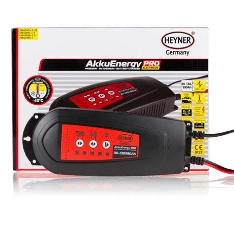 electric battery chargers akkuenergy electronic battery charger 130 190ah heyner shop
