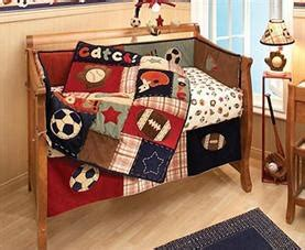 Baby Boy Crib Bedding Sports Storkbrokers Nojo My Mvp Sports Themed Bedding Set Kid 100 00 For Pinterest
