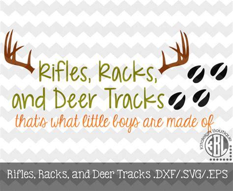 Racks And Tracks by Riflesracks And Deer Tracks Design By Kitaleighboutique On