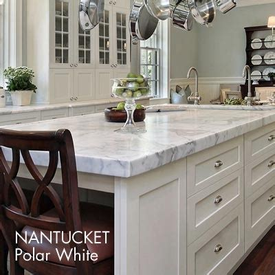 nantucket polar white kitchen cabinets 17 best images about marble top island on pinterest