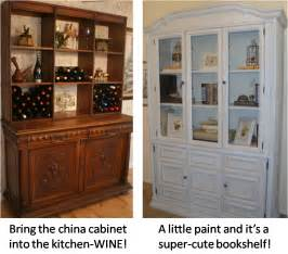 Repurposed Cabinets Repurposing China Cabinets Diy China