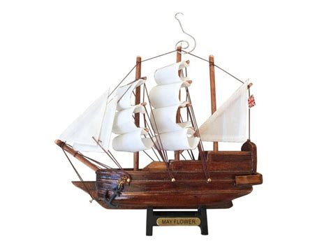 buy wooden mayflower model ship christmas tree ornament