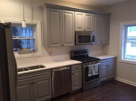 San Antonio Kitchen Cabinets by San Antonio Gray Cabinets Yelp