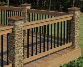 deck railings 20 creative deck railing ideas for inspiration hative