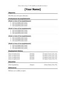 Resume Templates On Experience Resume Template Resume Builder