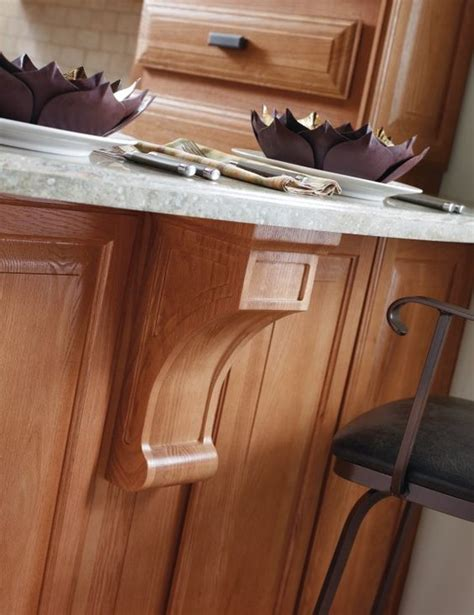 Oak Corbels For Granite Countertops by Shelf Brackets Countertops And Strength On