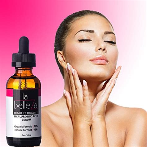 Belleza Skincare la belleza skincare organic topical anti aging wrinkle serum hyaluronic acid liquid with