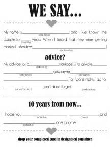 printable wedding mad libs template this one from the pretty is straightforward and